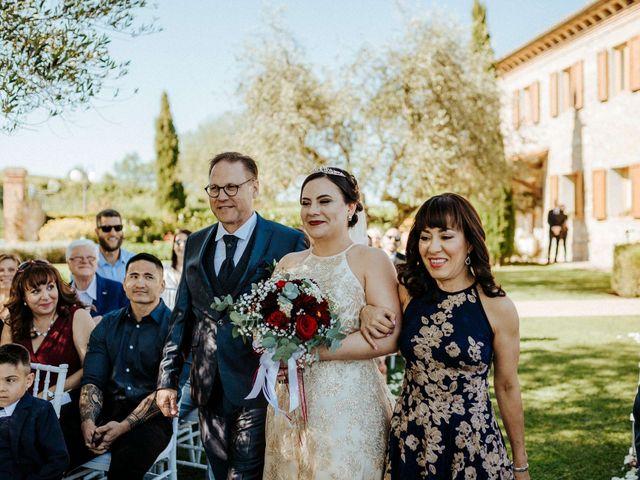 Il matrimonio di Mallery e Luca a Gambassi Terme, Firenze 25