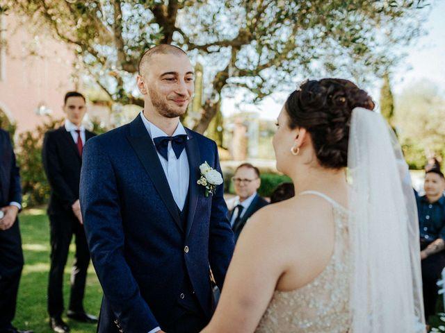 Il matrimonio di Mallery e Luca a Gambassi Terme, Firenze 28