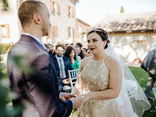 Il matrimonio di Mallery e Luca a Gambassi Terme, Firenze 33