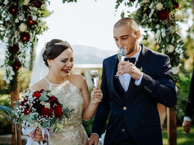 Il matrimonio di Mallery e Luca a Gambassi Terme, Firenze 35