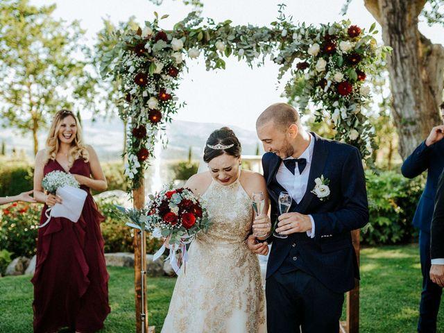 Il matrimonio di Mallery e Luca a Gambassi Terme, Firenze 36