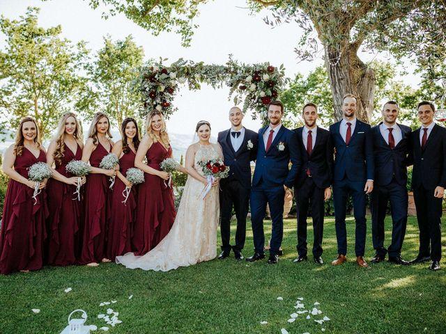 Il matrimonio di Mallery e Luca a Gambassi Terme, Firenze 38