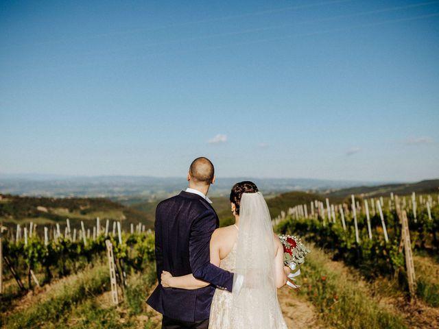 Il matrimonio di Mallery e Luca a Gambassi Terme, Firenze 44