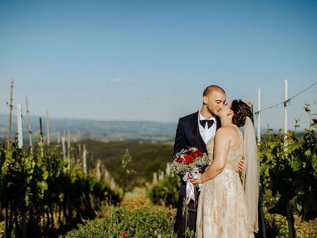 Il matrimonio di Mallery e Luca a Gambassi Terme, Firenze 45