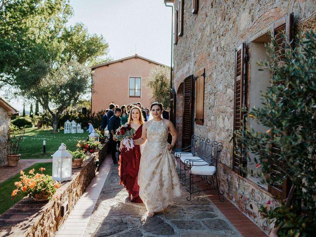 Il matrimonio di Mallery e Luca a Gambassi Terme, Firenze 46