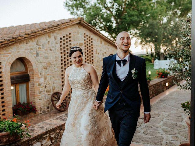 Il matrimonio di Mallery e Luca a Gambassi Terme, Firenze 54