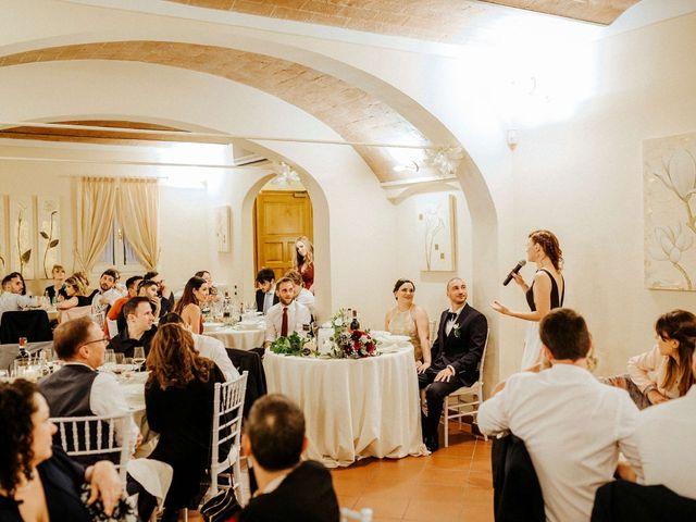 Il matrimonio di Mallery e Luca a Gambassi Terme, Firenze 56