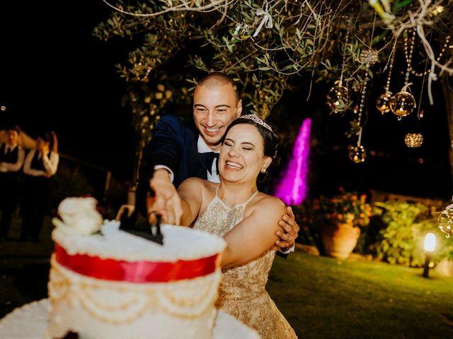 Il matrimonio di Mallery e Luca a Gambassi Terme, Firenze 57