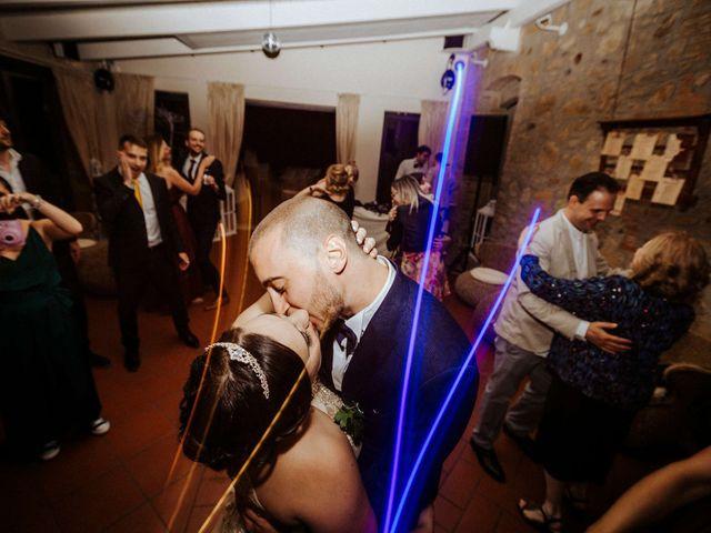 Il matrimonio di Mallery e Luca a Gambassi Terme, Firenze 62