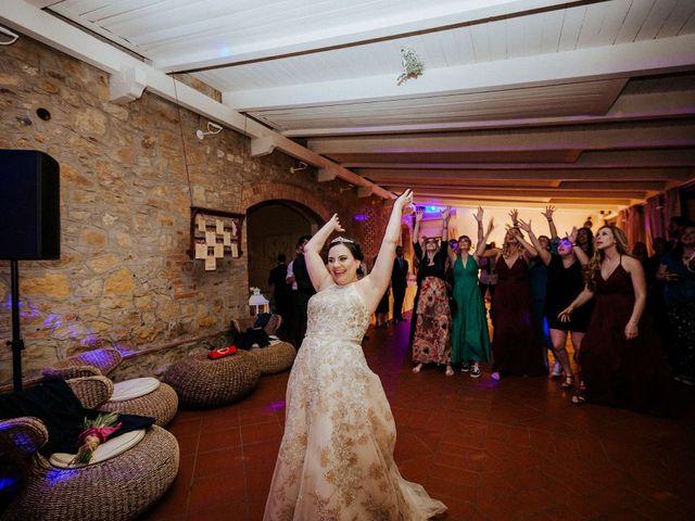Il matrimonio di Mallery e Luca a Gambassi Terme, Firenze 65