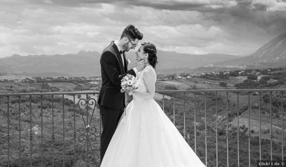 Il matrimonio di Tommaso e Alice a Orsogna, Chieti
