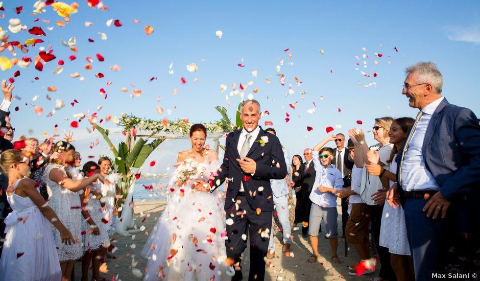 Il matrimonio di Silvio e Chiara a Cervia, Ravenna