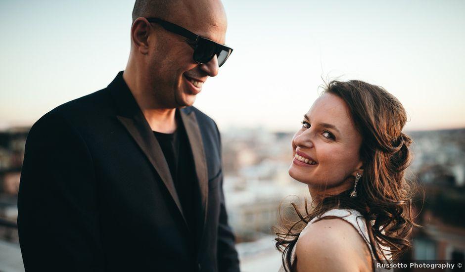 Il matrimonio di Ilias e Eleni a Roma, Roma