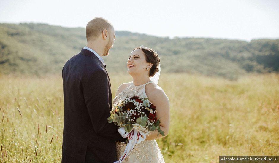 Il matrimonio di Mallery e Luca a Gambassi Terme, Firenze