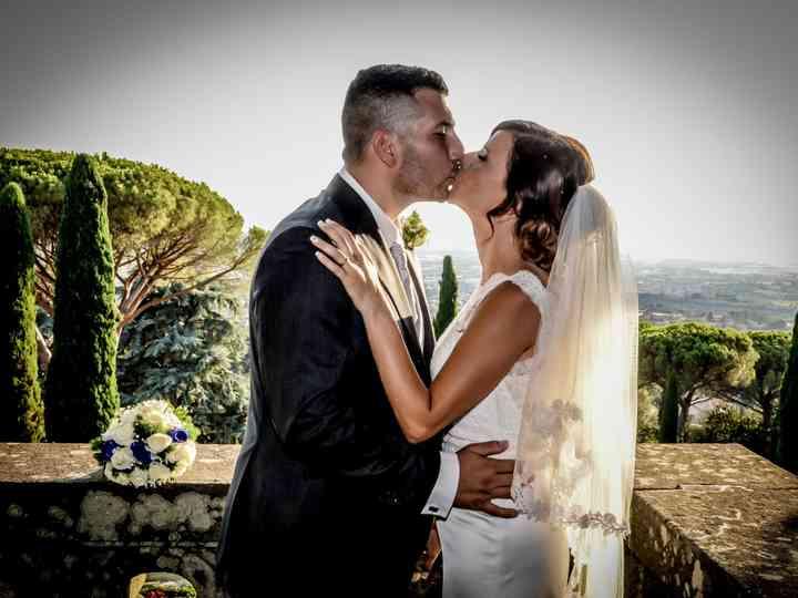 le nozze di Stefano e Paola