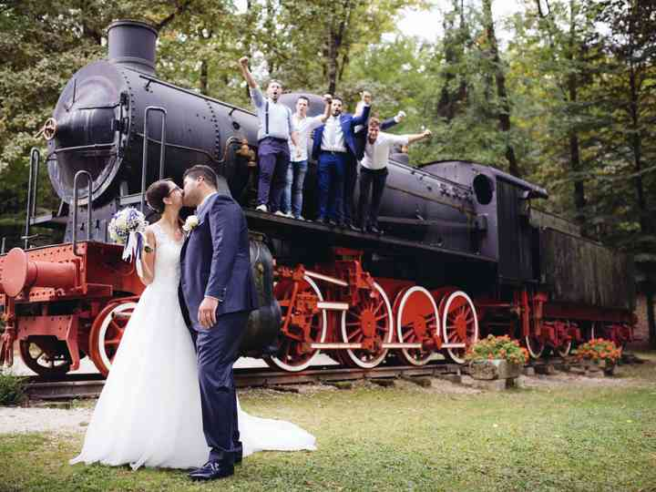 Le nozze di Anna e Christian