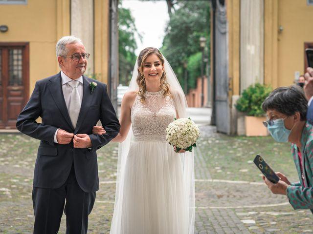 Il matrimonio di Silvia e Marco a Roma, Roma 25