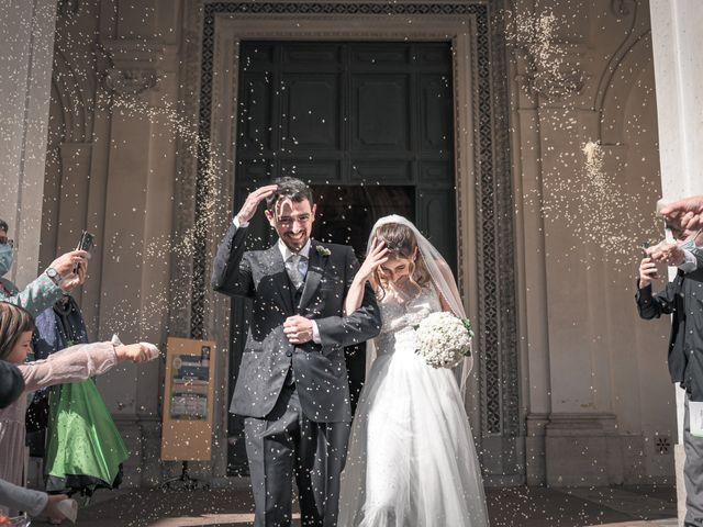 Il matrimonio di Silvia e Marco a Roma, Roma 45