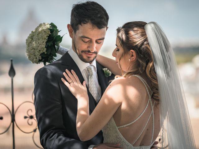 Il matrimonio di Silvia e Marco a Roma, Roma 49