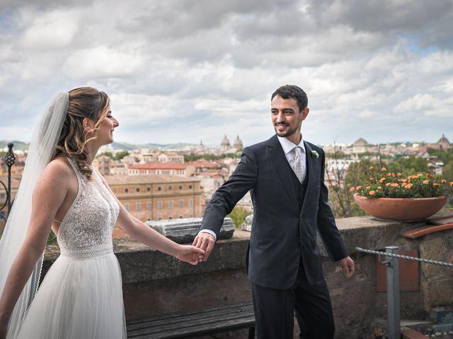 Il matrimonio di Silvia e Marco a Roma, Roma 51