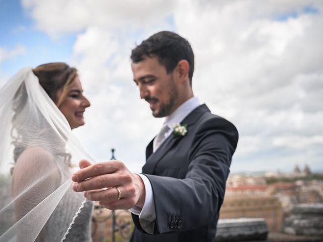 Il matrimonio di Silvia e Marco a Roma, Roma 52