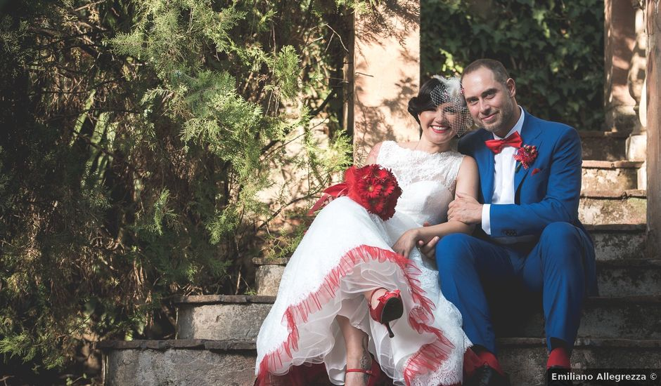 Il matrimonio di Roberto e Nadia a Grottaferrata, Roma