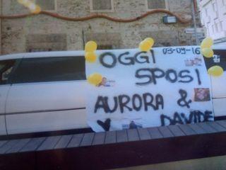 Le nozze di Aurora e Davide 1