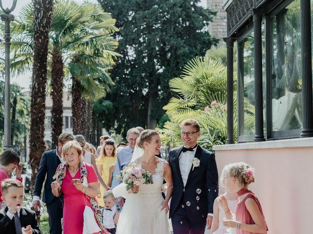 Il matrimonio di Roland e Anna a Arco, Trento 25