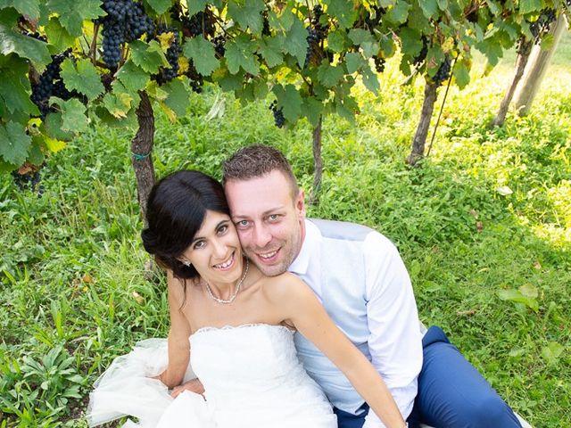 Il matrimonio di Manuele e Sabrina a Erbusco, Brescia 106