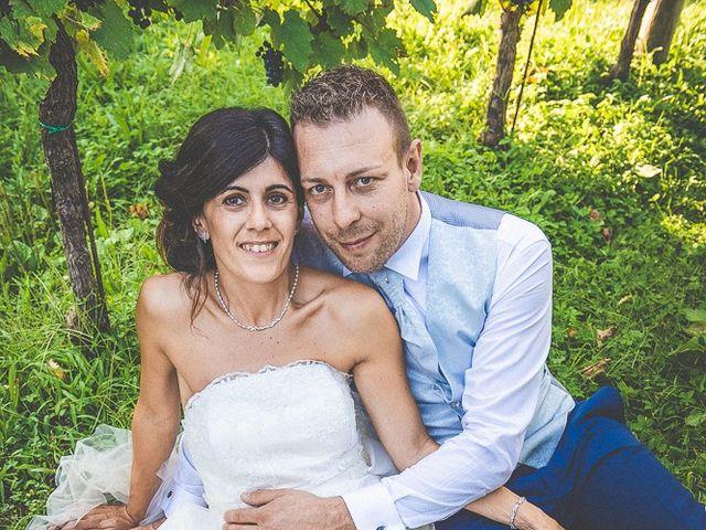 Il matrimonio di Manuele e Sabrina a Erbusco, Brescia 107
