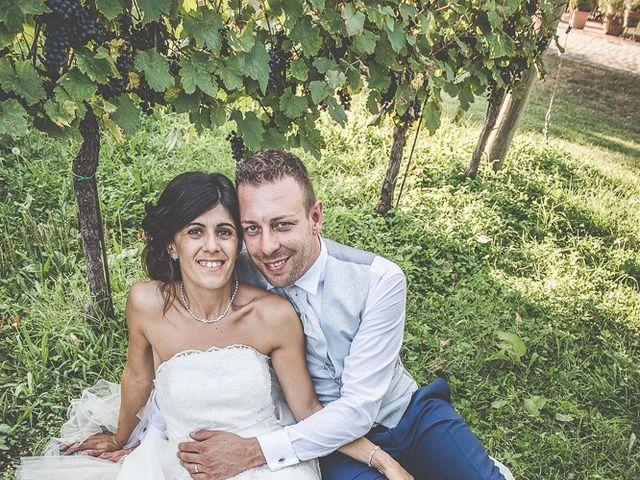 Il matrimonio di Manuele e Sabrina a Erbusco, Brescia 108