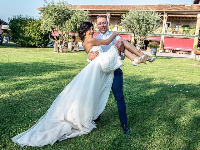 Il matrimonio di Manuele e Sabrina a Erbusco, Brescia 112