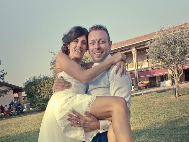 Il matrimonio di Manuele e Sabrina a Erbusco, Brescia 113