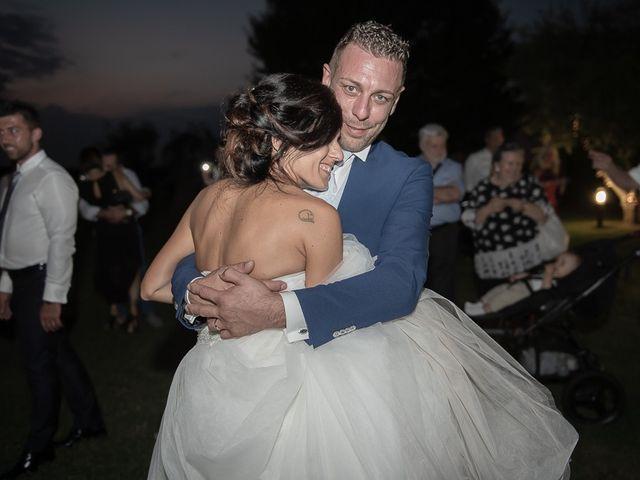 Il matrimonio di Manuele e Sabrina a Erbusco, Brescia 127