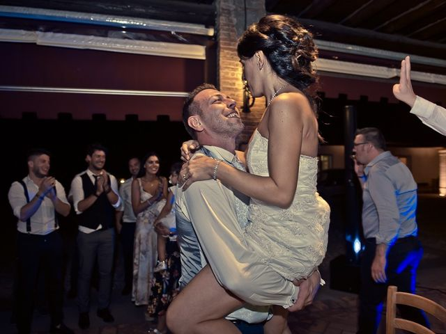 Il matrimonio di Manuele e Sabrina a Erbusco, Brescia 133