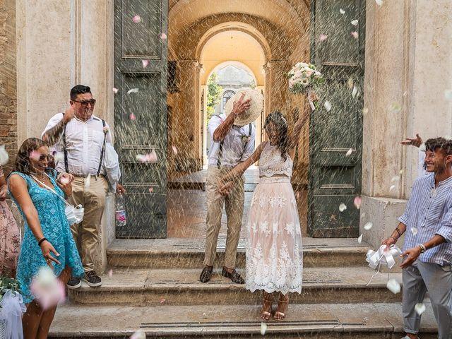 Il matrimonio di Luca e Andrea a Ostra Vetere, Ancona 35