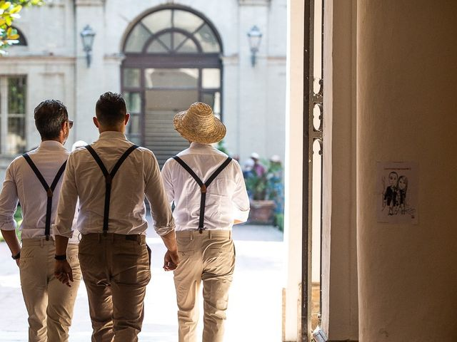 Il matrimonio di Luca e Andrea a Ostra Vetere, Ancona 55