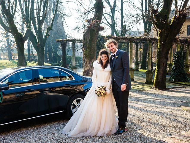 Il matrimonio di Michele e Eleonora a Pavia, Pavia 78