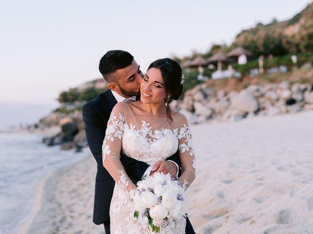 Il matrimonio di Angelo e Federica a Tropea, Vibo Valentia 81