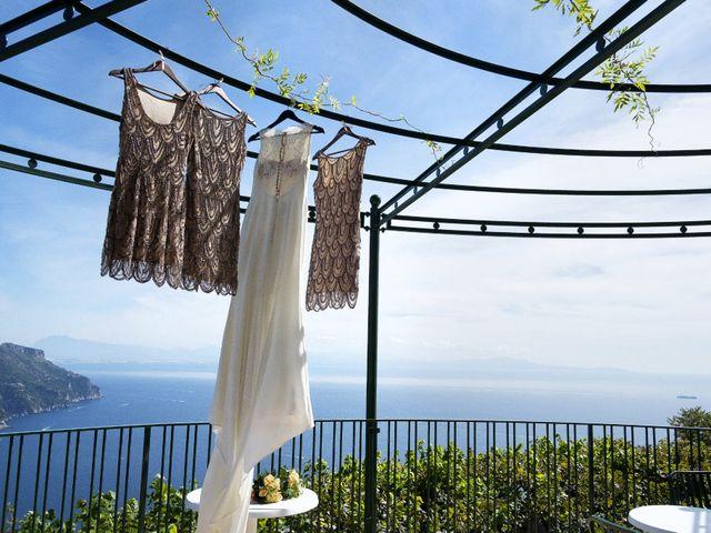 Il matrimonio di Pino e Nancy a Ravello, Salerno 13