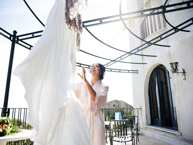 Il matrimonio di Pino e Nancy a Ravello, Salerno 19