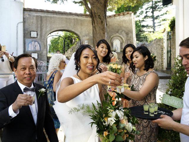 Il matrimonio di Pino e Nancy a Ravello, Salerno 28