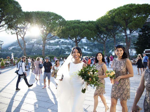 Il matrimonio di Pino e Nancy a Ravello, Salerno 40