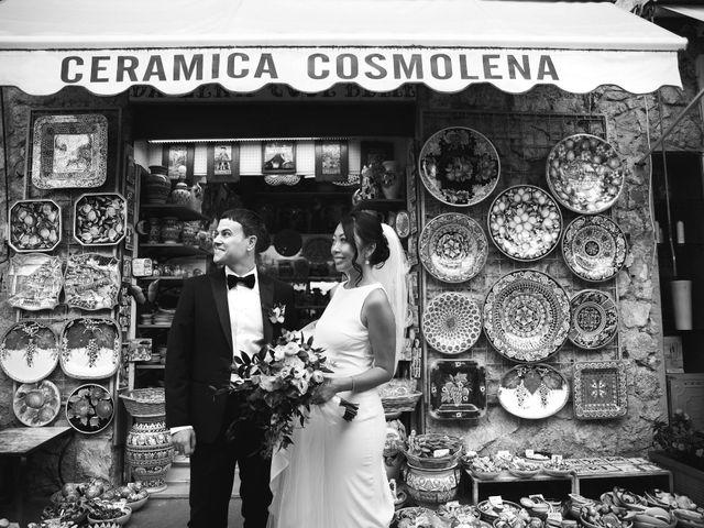 Il matrimonio di Pino e Nancy a Ravello, Salerno 41