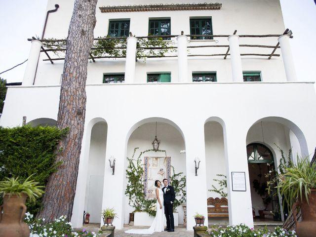 Il matrimonio di Pino e Nancy a Ravello, Salerno 43