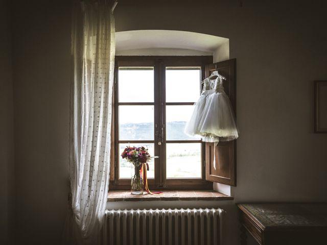 Il matrimonio di Sara e Giovanni a Pienza, Siena 3
