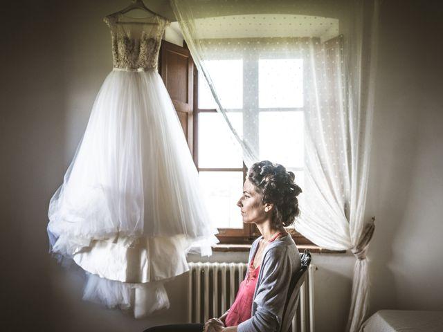Il matrimonio di Sara e Giovanni a Pienza, Siena 4