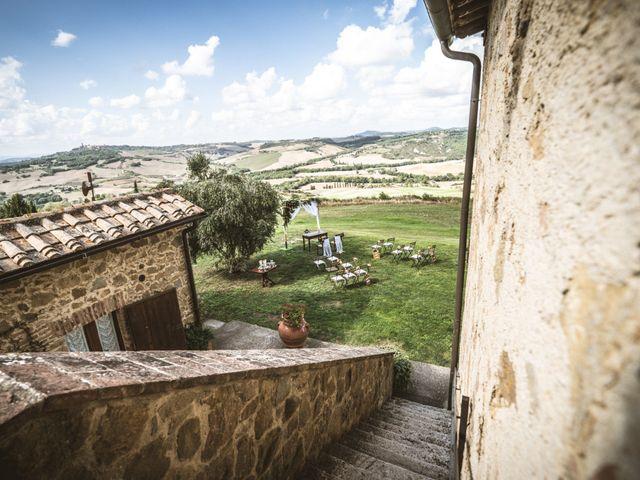Il matrimonio di Sara e Giovanni a Pienza, Siena 6