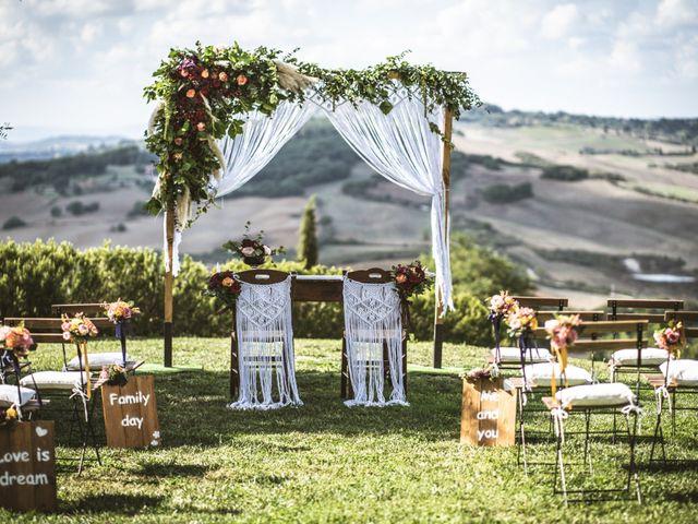 Il matrimonio di Sara e Giovanni a Pienza, Siena 7