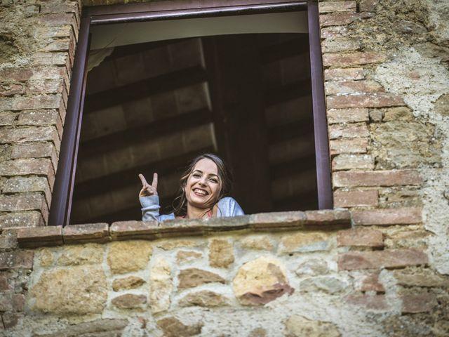 Il matrimonio di Sara e Giovanni a Pienza, Siena 8